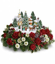 Thomas Kinkade Flower Arrangement