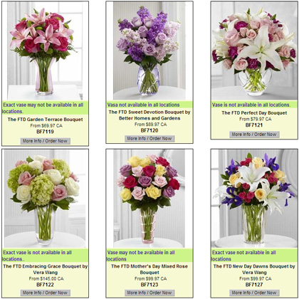 FTD Mother's Day Flowers