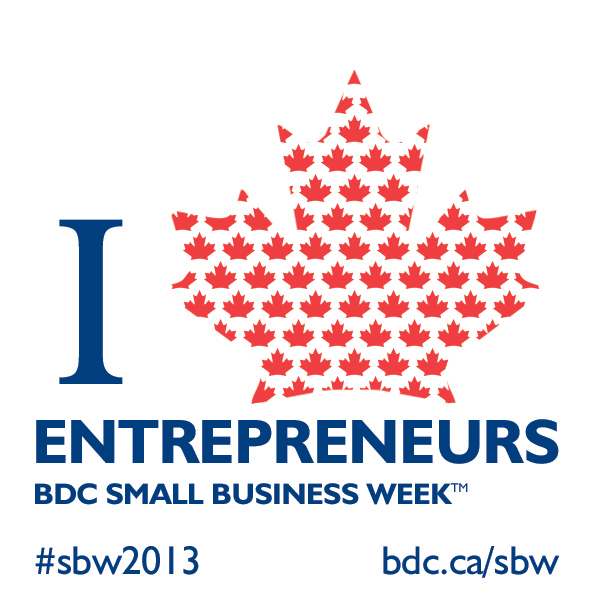 BDC Small Business WeekT official badge