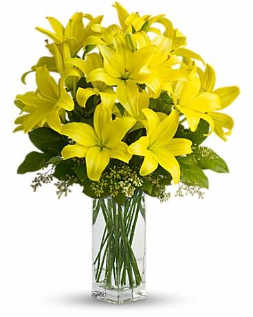Lily Sunshine witgh Vase - BF6110