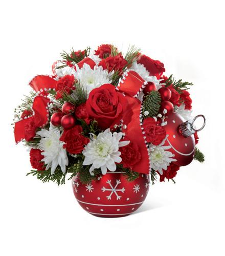 Season's Greetings Ornament Bouquet - BF2081