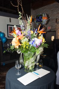 Brant Florist Customer Appreciation Birthday Party Flowers