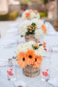 flower themed baby shower ideas