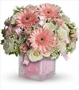 It's a girl baby shower flowers | Brant Florist