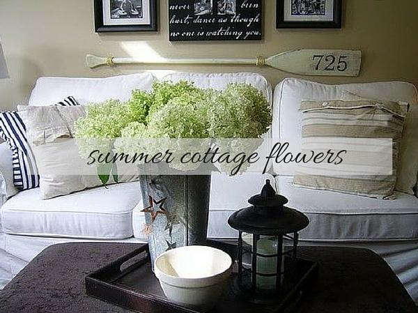 Summer Cottage Flowers