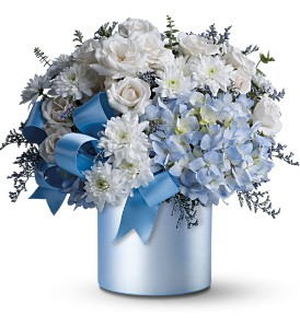 Airy Blue Flowers