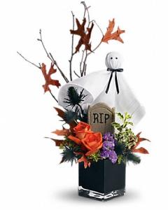 Halloween Flower By Brant Florist
