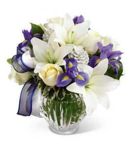 Spring Flowers Lilies by Brant Florist