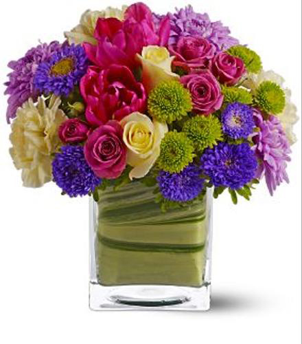 birthday bouquet of flowers by brant florist, Beautiful flower