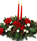 Photo of a Christmas Centerpiece
