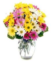 Photo of an Easter Flower Arrangement