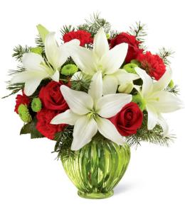 Photo of Winter Elegance Bouquet FTD - B13-4960