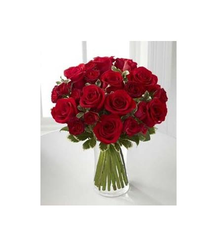 Photo of BF7163/B23-4375d (9 Roses plus spray roses)