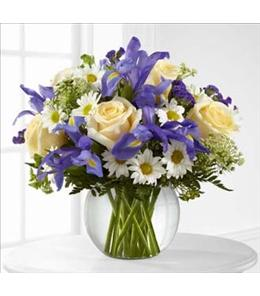Photo of Sweet Beginnings Bouquet in Vase - B27-4804