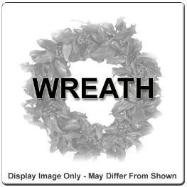 Photo of Wreath Fresh Flowers - WR