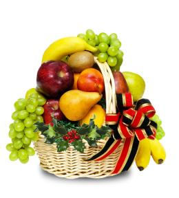 Photo of Fruit Basket with  Gourmet - C1215
