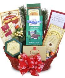 Photo of Hoiday Delights Gift Basket Gourmet Snacks  - C1216