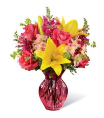 Photo of Happy Spring Vase Bouquet  - 17-M1