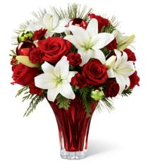 Photo of Holiday Wishes Bouquet FTD C6 - 14-C6