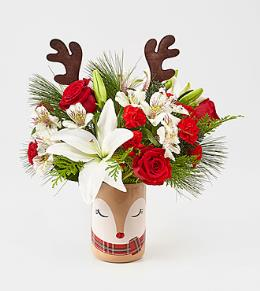 Photo of Happiest Holidays Bouquet FTD C8 - 14-C8