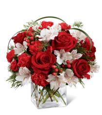 Photo of Holiday Hopes Bouquet by FTD - B14-4965
