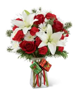 Photo of Joyous Holiday Bouquet FTD - B8-4963