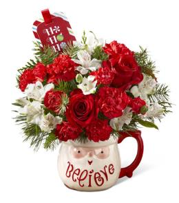 Photo of Happiest Holidays Little Drummer Bouquet FTD  - 15-C7