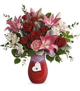 Photo of In Love with Red Roses Bouquet by FTD  V1R - 16-V1R