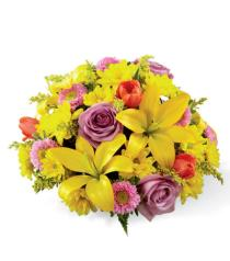 Photo of Spring Sunshine Centerpiece - B25-4967
