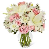 Photo of Pink Dream Bouquet in Vase - C13-5036