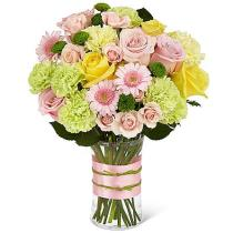 Photo of Sweet Sunshine Bouquet in Vase - XX-5037