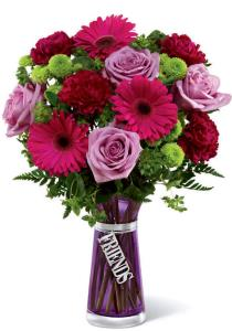 Photo of Friends Bouquet with Vase - TFR