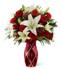 Photo of Holiday Celebrations Bouquet FTD C1 - 14-C1