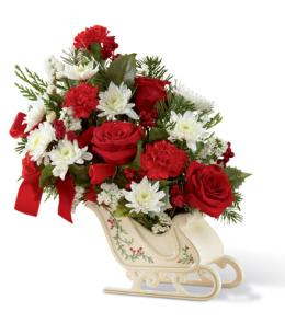 Photo of Holiday Traditions Bouquet FTD C4 - 14-C4