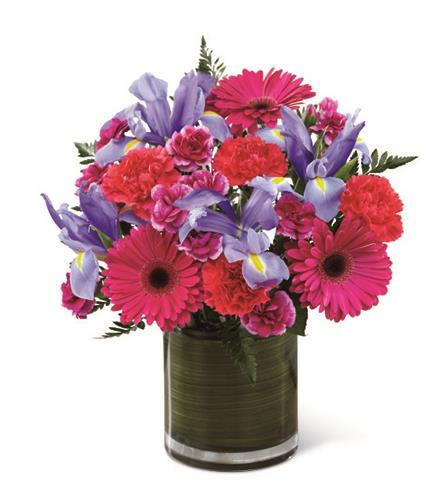 Photo of BF2174/B21-4969d (Approx. 16 Stems - vase included)