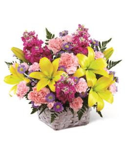 Photo of BF2175/B21-4968d (Approx. 15 Stems - Basket Included)