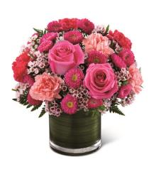 Photo of Pink Pursuits Bouquet by FTD - C15C-4972
