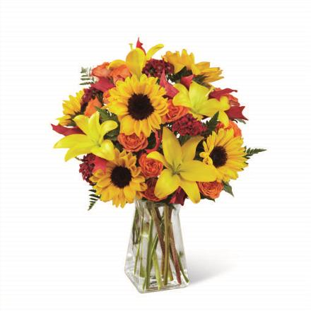Photo of BF2187/B2-4957d (Approx. 14 Stems - vase included)