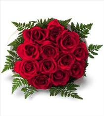 Photo of Roses Wrapped or Add Vase  - FF2
