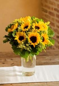 Photo of Sunflowers in a Vase - IT1930