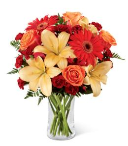 Photo of BF2717/B3-4951d (Approx 12 Stems - includes vase)