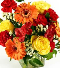 Photo of Happy Today BF Cube Bouquet  - B8297-067
