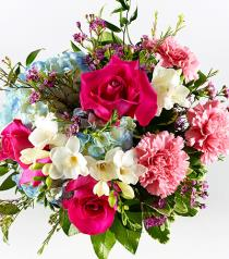 Photo of Pastel Mixed Cut Bouquet No Vase - B8297-070