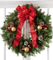 Photo of Winter Wonders Wreath Seasonal - B9-5140