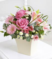 Photo of Pink Exquisite Arrangement - 500516