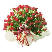 Photo of Bouquet of 100 Roses (without basket) (Red/Pink/Yellow/White) - IC-5015