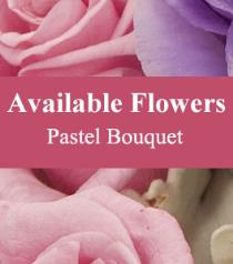 Photo of Florist Choice Pastel Bouquet - BF3795