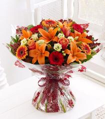Photo of Autumn Favourites Hand Tied - 500494
