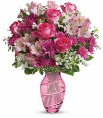 Photo of Pink Bliss Bouquet by Teleflora - T14M100