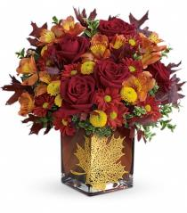 Photo of Teleflora's Smiling Scarecrow Bouquet - T14T300